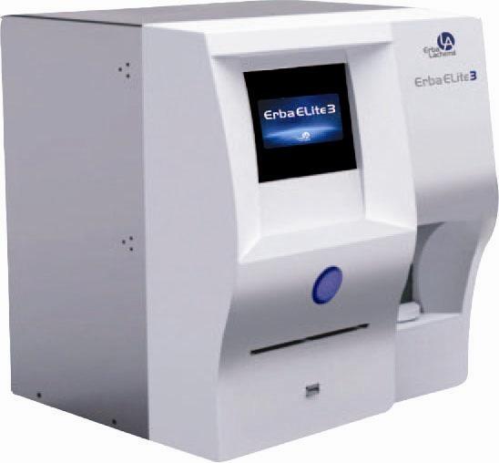 Máy xét nghiệm huyết học Erba ELite 3